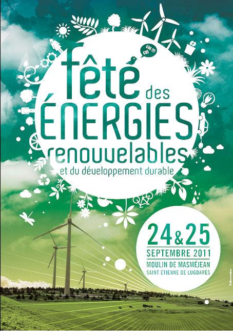affiche fête des énergies renouvelables